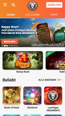 Online Casino für Handys