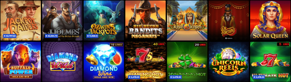 N1 Casino Jackpot Spiele
